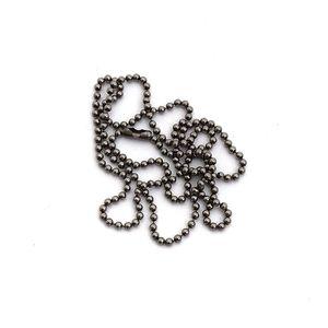 Titanium Ball Chain Necklace - Small
