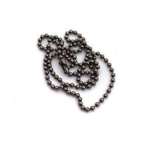 Titanium Ball Chain Necklace - Large
