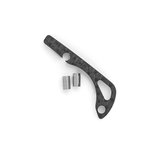 Carbon Fiber Backspacer for Benchmade Mini Bugout Knife