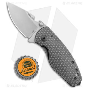 "DPx HEAT/F Frame Lock Knife 3D Titanium Leggaro Naked (2.375"" Stonewash)"