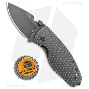 "DPx HEAT/F Frame Lock Knife 3D Black Titanium (2.4"" Black Stonewash)"