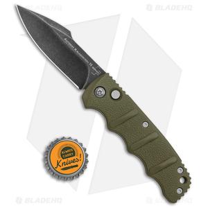"Boker Kalashnikov Harpoon Automatic Knife OD Green (3.25"" Smokewash D2)"
